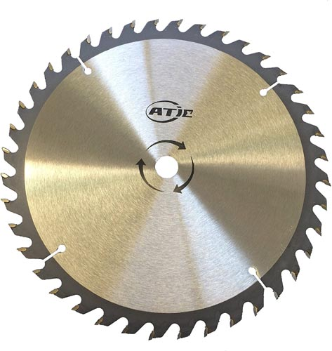 40 Tooth Carbide Tip General Purpose Wood Cutting Saw Blade