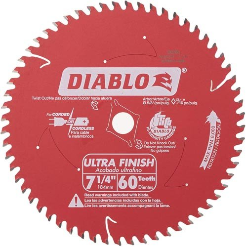 60-Tooth Ultra Fine Finishing Circular Saw Blade