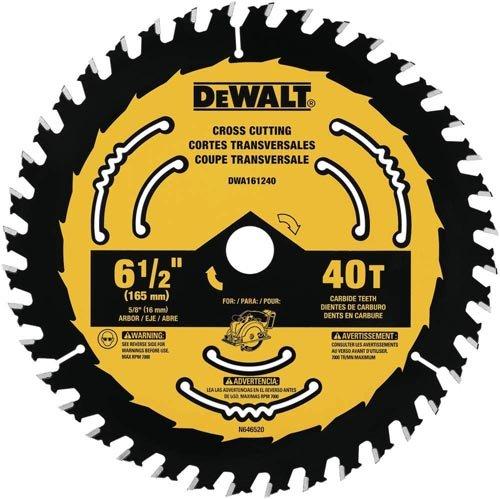 DEWALT DWA161240 6-1/2-Inch 40-Tooth