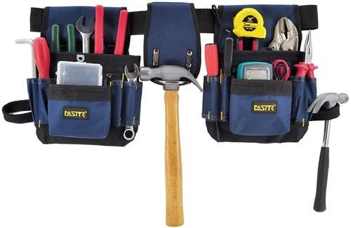 FASITE PTN012 32-POCKET Electrical Maintenance Tool Pouch Bag Technician's Tool Holder Work Organizer Framer's Tool Belt
