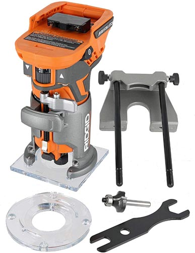 Ridgid Cordless Brushless 1/4 Inch Compact Router