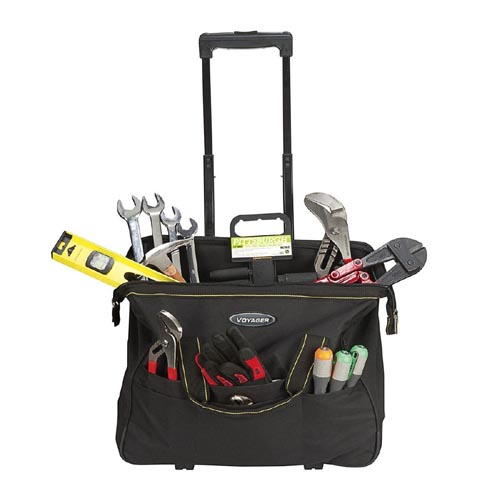 VOYAGER Harbor freight rolling tool bag